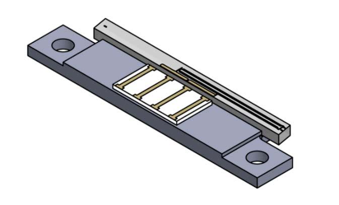MIOC-1550-SB100 Qty多功能集成光学芯片底座,1550 nm